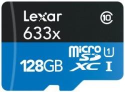 Карта памяти Lexar 128GB microSDXC C10 UHS-I R95MB
