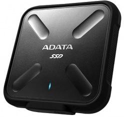 Накопитель SSD 1TB AData SD700 USB 3.1 Black