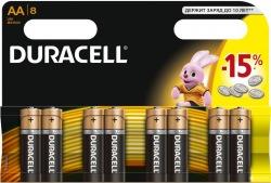 Батарейки DURACELL LR06(АА) MN1500 (8шт.)