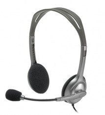 Наушники+микрофон Logitech Stereo Headset H110