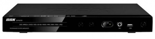 DVD-плеер BBK DVP457SI Black