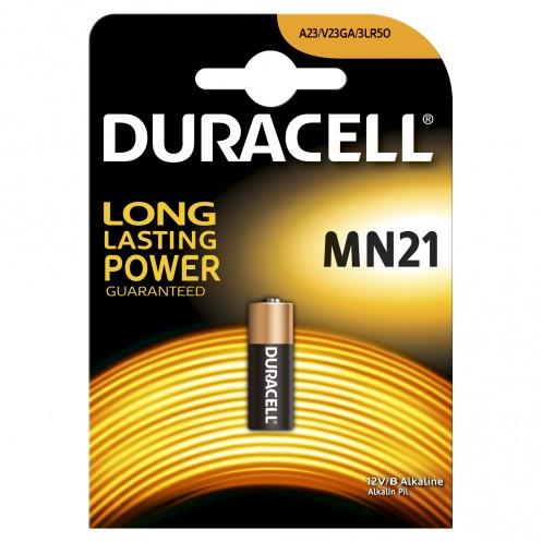Батарейки Duracell {MN} 21 (1ШТ) (дюрасел)
