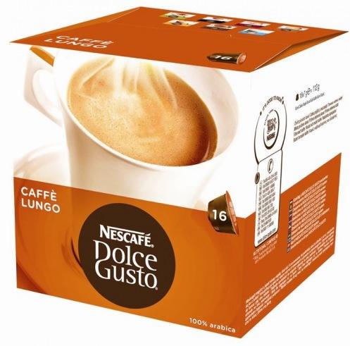 Кофе молотый NESCAFE DOLCE GUSTO Лунго