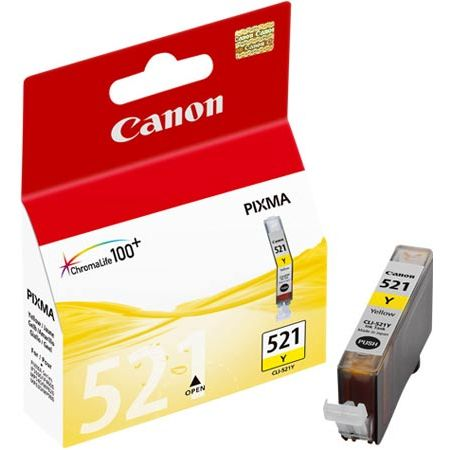 Картридж струйный желтый CANON (CLI-521Y)