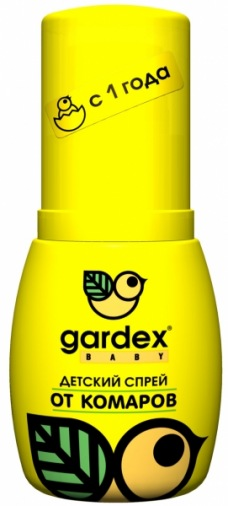 Дитячий спрей від комарів Gardex Baby (420552)
