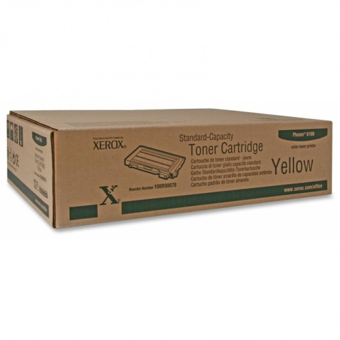 Тонер картридж Xerox PH6100 Yellow (106R00678)