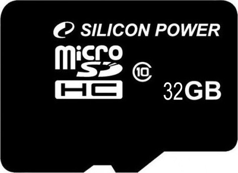 Карта памяти SILICON POWER microSDHC 32 Gb