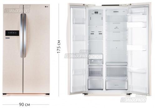 Холодильник LG GC-B 207 GEQV