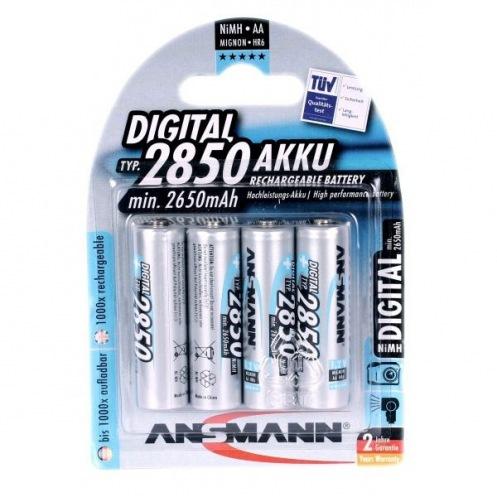 Аккумуляторы ANSMANN 5035212/092 2850AАНС (4шт.)