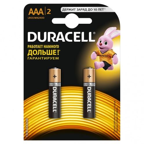 Батарейки DURACELL AAA MN2400 (2шт)