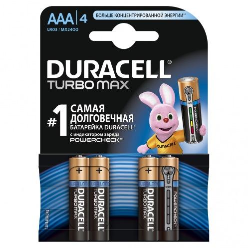 Батарейки DURACELL AAA MN2400 TURBO (4шт)