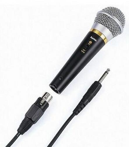 Микрофон HAMA 46060 DM-60 XLRj/6.3J