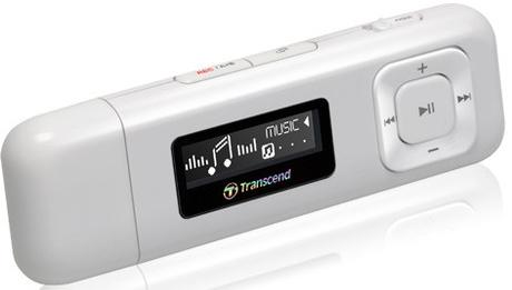 MP3Плеер Transcend 330 White