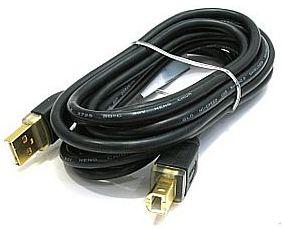 Кабель HAMA 46772 USB 2.0 A-B 3м