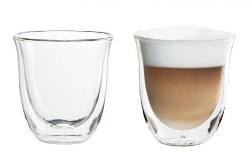 Набір склянок Delonghi Cappuccino 190мл 2шт. (DBWALLCAPP)
