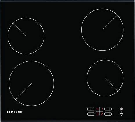Варочная поверхность электрическая Samsung C 61 R2AEE/BWT