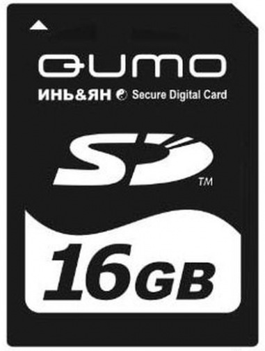 Карта пам'яті Qumo SDHC 16GB
