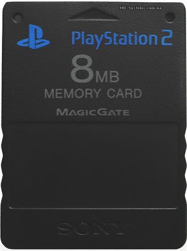 Карта памяти 8Mb (Black) PS2