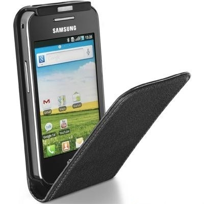Чехол Flap Essential Samsung S5830 Black