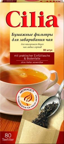 Фильтр для чая Melitta Сilia 80шт