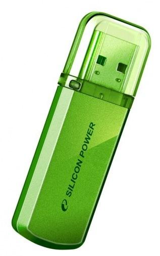 Флешдрайви SILICON POWER 16GB Helios 101 Green (SP016GBUF2101V1N)