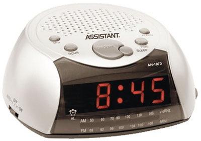 Часы с радио Assistant AH-1070