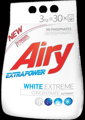 """AL00522 Пральний порошок """"Airy"""" для білої.білизни"""