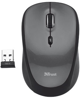 Мышь Trust Yvi Mini Wireless Mouse (18519)