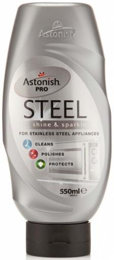 Кремообразное средство для очистки и полировки изделий из нержавеющей стали Astonish C1081