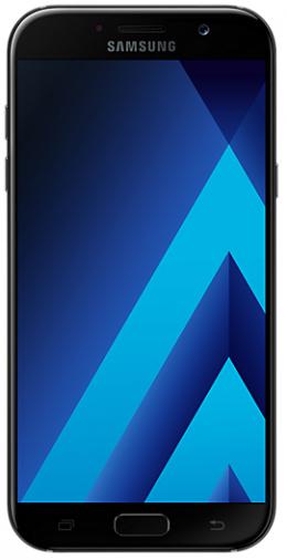Смартфон Samsung Galaxy A7 2017 Black (SM-A720FZKD)