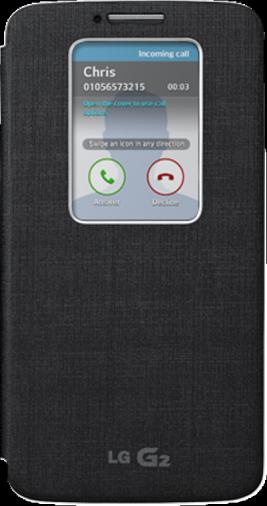 Чехол для смартфона LG CCF-240G.AGEUBK