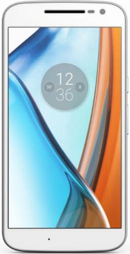 Смартфон Motorola Moto G4 Play 16GB White (XT1602)
