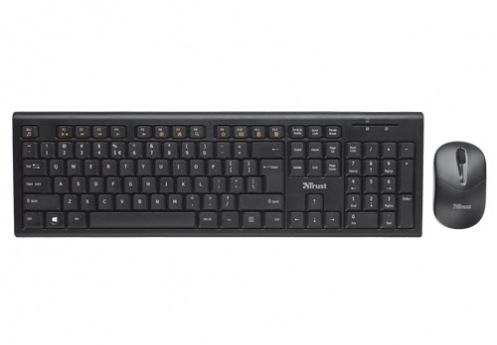 Комплект клавиатура и мышь Trust Nola Wireless Keyboard with mouse