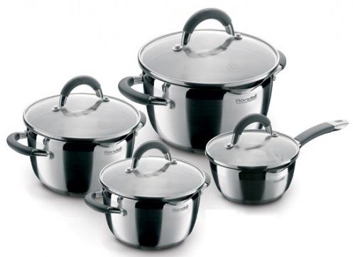 Набір посуду 8 предметів Flamme Rondell RDS-040