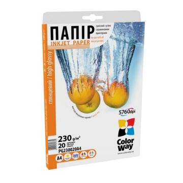 Бумага ColorWay A4 PG230-20
