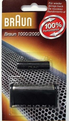 Бриючий блок і сітка BRAUN 1000 = (11B)