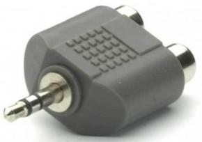 Адаптер 3,5мм-2RCA Teccus/Vivanco T550-N