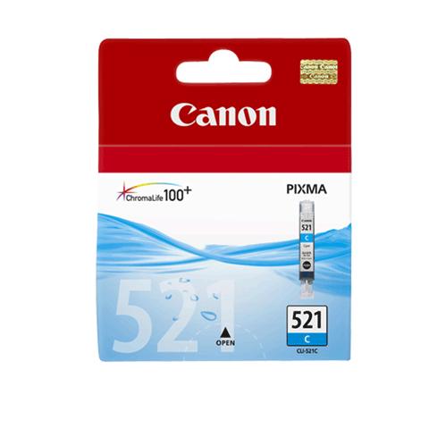 Картриджі для струменевих принтерів Canon CLI-521С