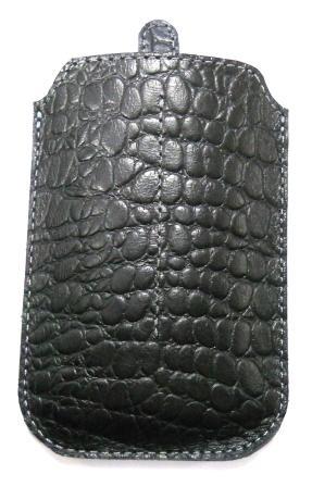 Чехол Trinity К192 черный крокодил (М)