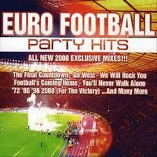 CD Euro Football Party Hits