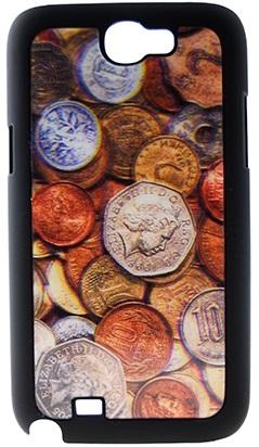 "Чехол Drobak 3D для Galaxy Note 2 ""Монеты"""