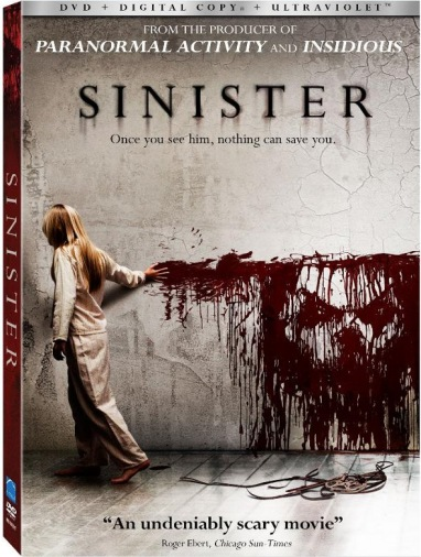 DVD Сіністер
