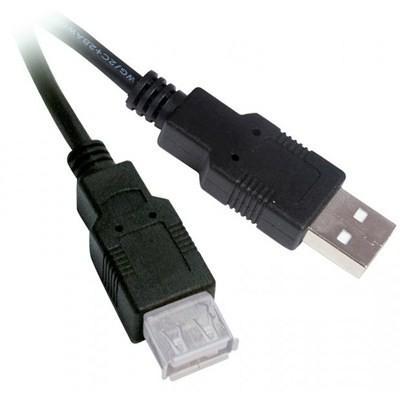USB-подовжувач AM/ AF 1.8m VIEWCON VU015 чорний