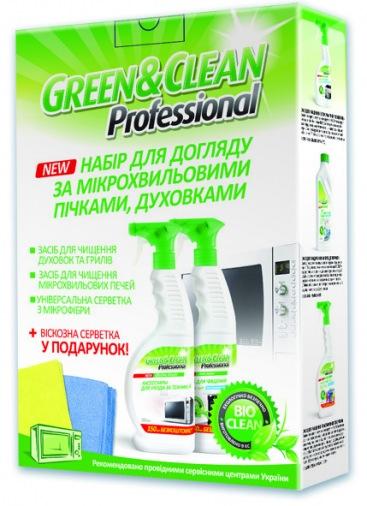 Набор для СВЧ и духовок GREEN CLEAN