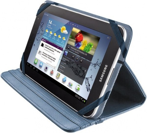 "Trust Verso Universal Folio Stand for 7-8"" tablets blue 19705"