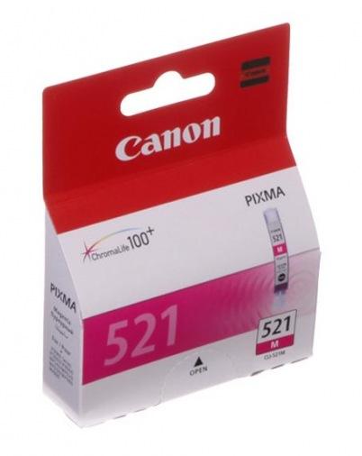 Картриджи для струйных принтеров Canon CLI-521M