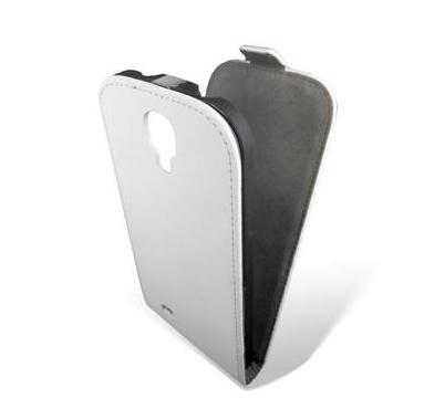 Чехол GlobalCase Samsung i9500 (Flip Down) White