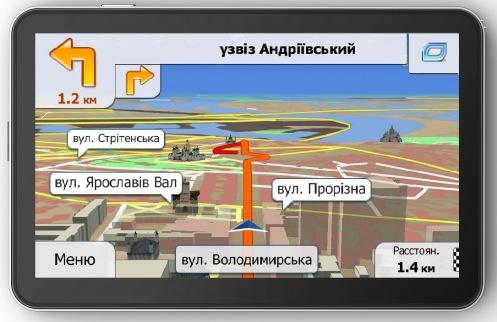 GPS-навигатор Navon 670 (PRIMO)