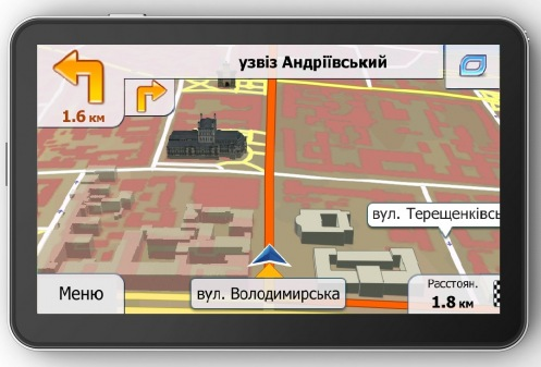 GPS навігатор Navon 490 (PRIMO)