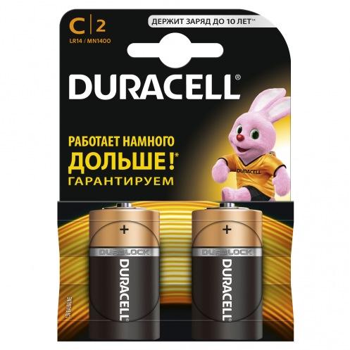 Батарейки DURACELL MN1400 C (2 шт)